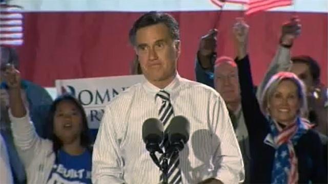 Mitt Romney at Metropolitan Park