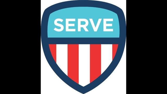 Natioanl Day Of Service Badge