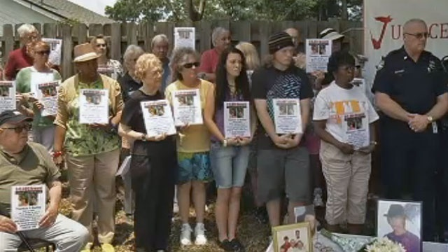Nunley's family, friends, police and the Justice Coalition appeal for information