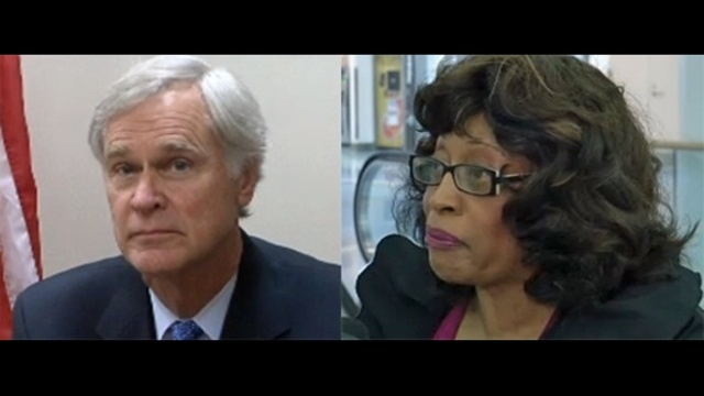 Reps. Ander Crenshaw and Corrine Brown