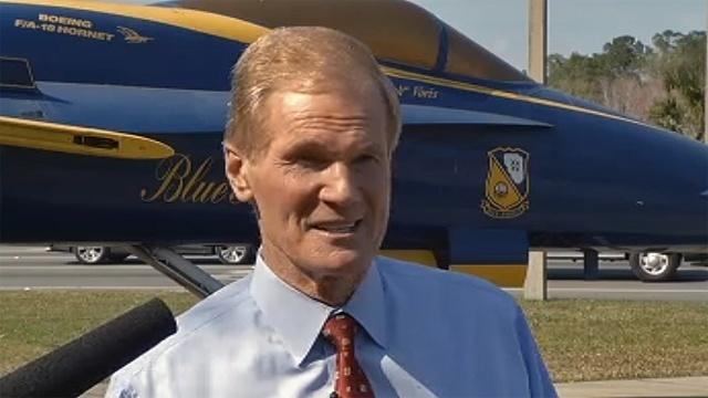 Sen. Bill Nelson at NAS Jacksonville