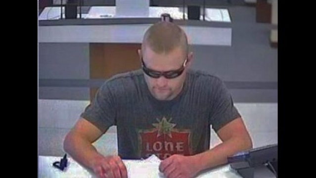 Serial bank robber photo