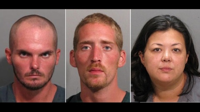3 charged with manufacturing meth in Atlantic Beach