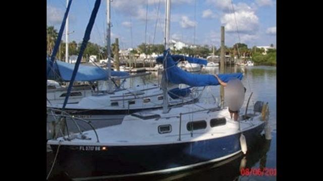 Amber Alert sailboat