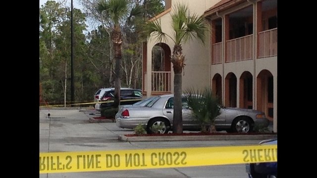 Daylight scene of deputy-involved shooting