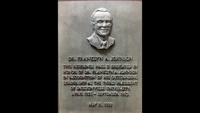 Franklyn Johnson plaque