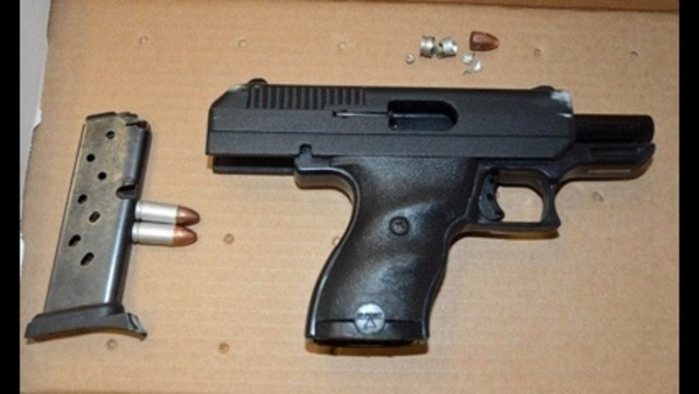 Gun in police shooting