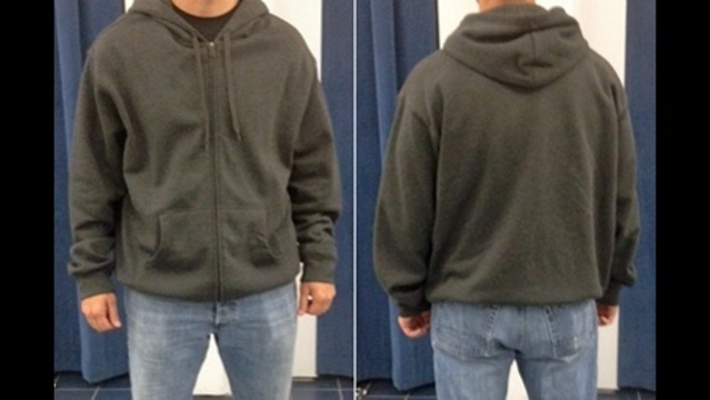 Hoodie worn by attacker