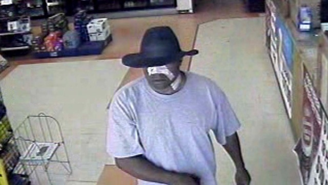 Lake City convenience store robber