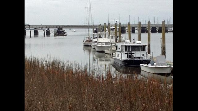 Marina where commissioner's body found