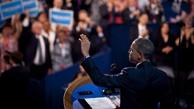 Obama 2012 DNC speech
