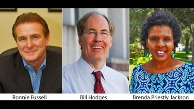 Ronnie Fussell, Bill Hodges, Brenda Priestly Jackson