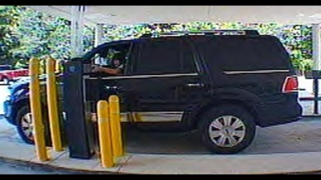 SUV in car burglaries