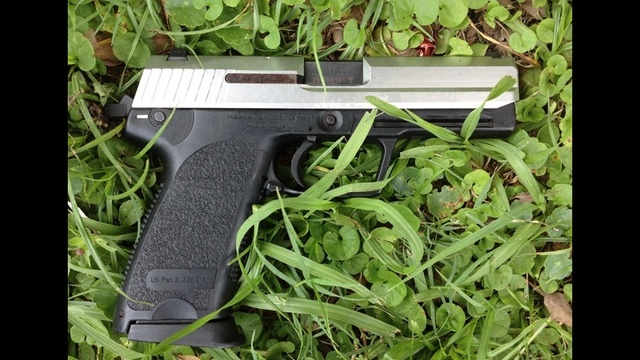 Suspect's gun in police-involved shooting