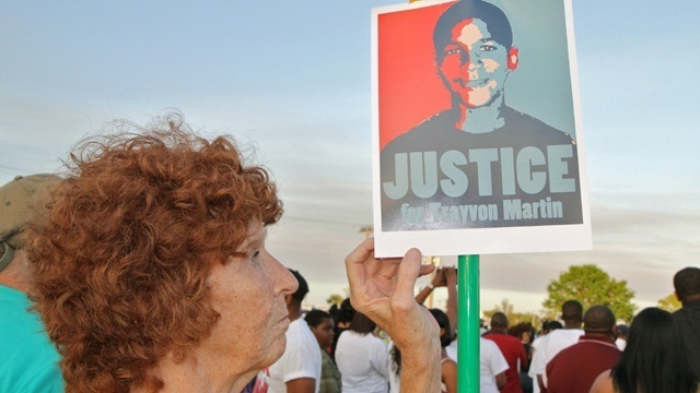 Trayvon Martin rally Sanford Fla