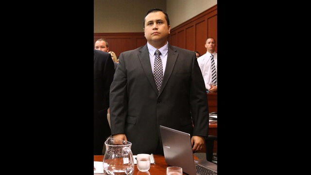 Zimmerman Trial - George Standing