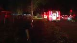 Elderly couple escapes overnight mobile home fire in Picketville