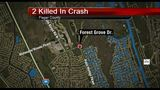 Crash kills 2 in Palm Coast