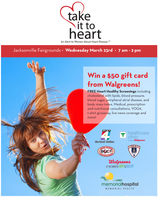 Take it to Heart 2016 flyer