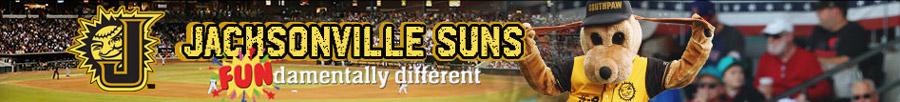 Jacksonville Suns banner