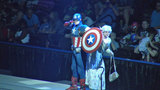 Watch superheroes in action at Marvel Universe Live