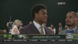 Jags vet talks draft results