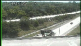 Overturned truck blocks I-10 ramp to Roosevelt