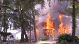 Frefighters burn down house for traiing