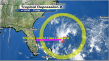 System off Florida coast upgraded to depression 2