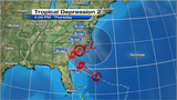System off Florida coast upgraded to depression