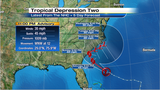 Tropical Depression may become Bonnie