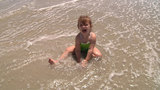 Rough waves at Amelia Island beach won't wash out one family's fun