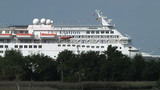 Cruise ship loses power heading to JaxPort