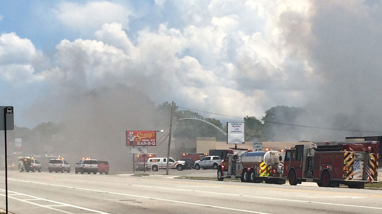 Fire Destroys Orange Park Furniture Store