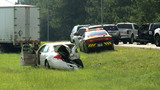 Multiple crashes shut down I-295 NB near Pulaski Road