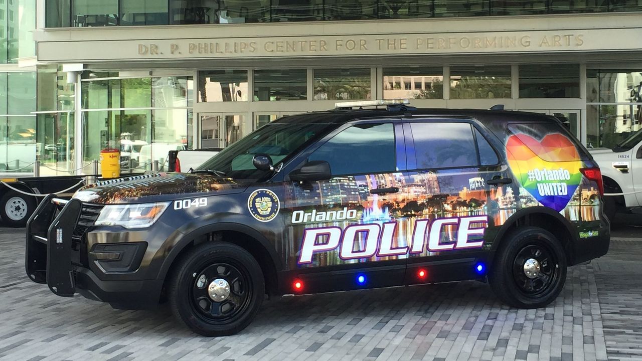 Orlando Police Vehicle Designed To Honor Pulse Victims
