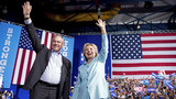 Clinton, Kaine hit the stage for the first time in Miami