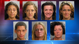 7 women arrested in citywide prostitution crackdown