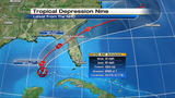Tropical depression 9 likely to strengthen