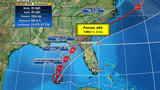 TD9 Track shift puts tropical storm watch in effect just west of Jacksonville