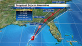 TS Hermine expected to become hurricane before hitting coast