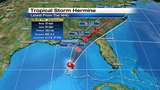 Tropical Storm Hermine strengthens some while heading toward Gulf Coast