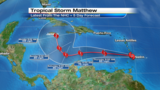 Tropical Storm Matthew forms