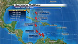 Matthew strengthens to category 5 hurricane
