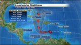 Scary Matthew quickly becomes category 2 hurricane
