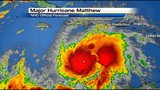 Matthew may quickly reach category 5 strength max winds now 150 mph