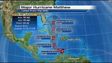 Matthew strengthens to category 5 hurricane winds now 160 mph!