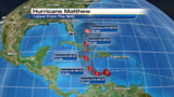 Matthew becomes a major hurricane