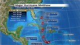Matthew weakens to category 4 storm with winds of 155 mph