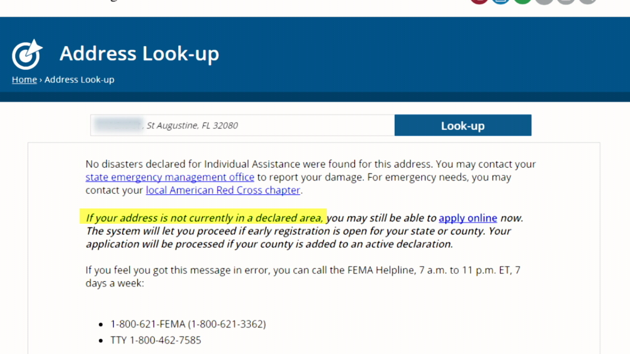 Waiting game for individual FEMA assistance